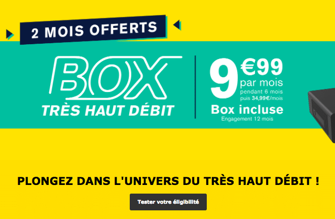 La Poste Mobile box internet