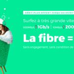 La fibre optique jusqu'à 1 Gb à 15€ par mois seulement, à vie et sans engagement, avec RED by SFR