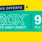 Votre abonnement box internet et fibre optique offert avec La Poste Mobile