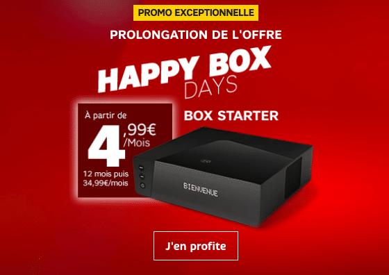 La box internet de SFR à 4,99€.