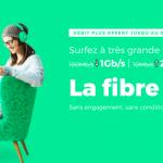 La fibre optique avec 1 Gb/s est à seulement 15€/mois chez RED by SFR