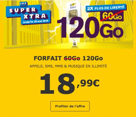 Les forfaits de La Poste Mobile sont aussi en promotion.