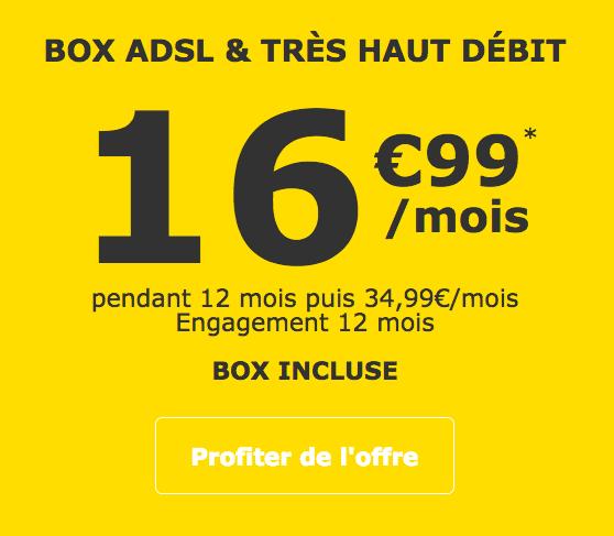 La Box Internet De La Poste Mobile Pour Seulement 16 99 Mois