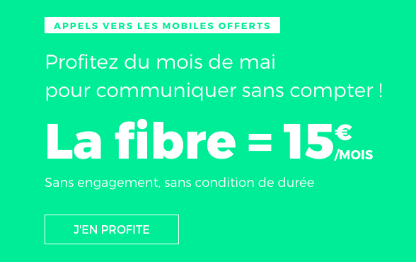 RED by SFR lance une promotion sur ses box internet.
