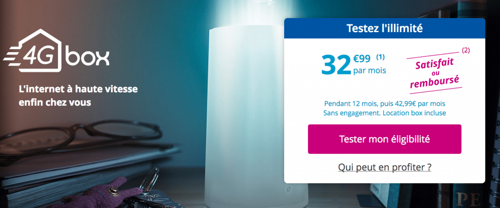 4G Box de Bouygues Télécom