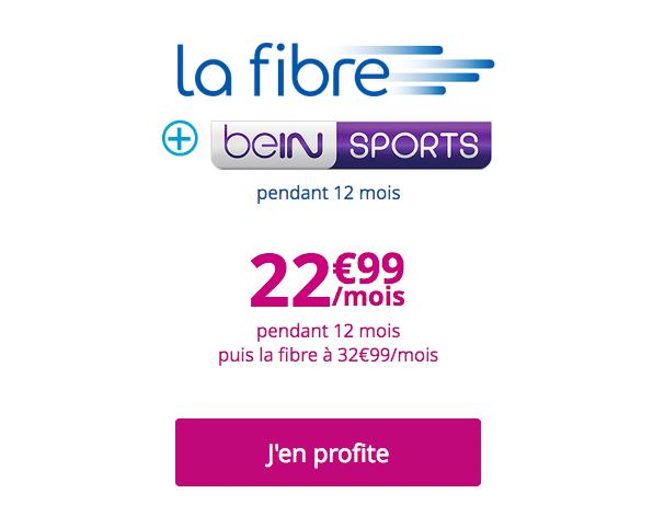 La box internet de Bouygues Télécom inclut beIN SPORTS.