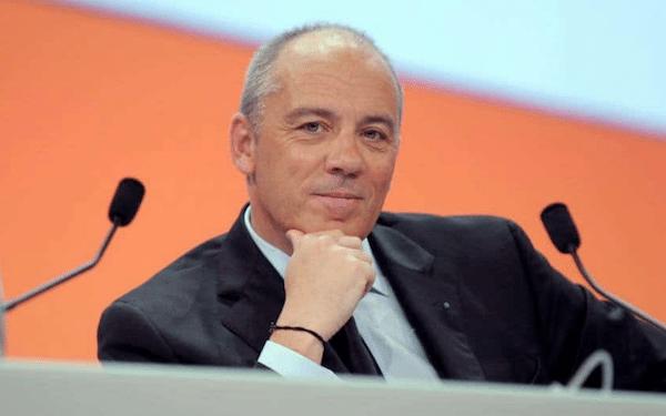 Stéphane Richard chef de l'opérateur Orange accord SFR fibre