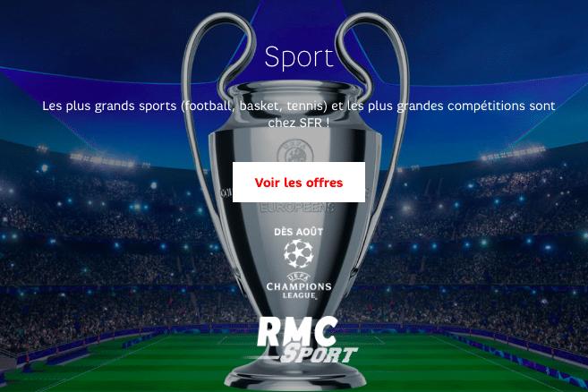 RMC Sport avec SFR.