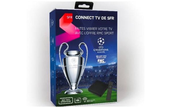 SFR CONNECT TV boîtier télévision
