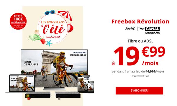 freebox revolution promotion internet fibre optique
