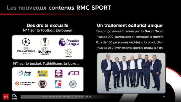 Nouvelles émission et compétition RMC Sport