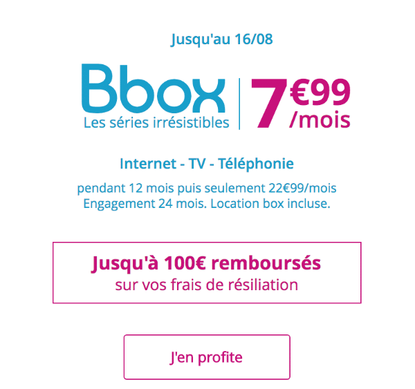 une box internet adsl pas ch re 7 99 mois chez bouygues telecom. Black Bedroom Furniture Sets. Home Design Ideas