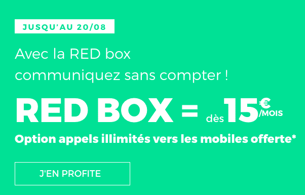 des petits prix sur les box internet adsl de red by sfr et sfr. Black Bedroom Furniture Sets. Home Design Ideas
