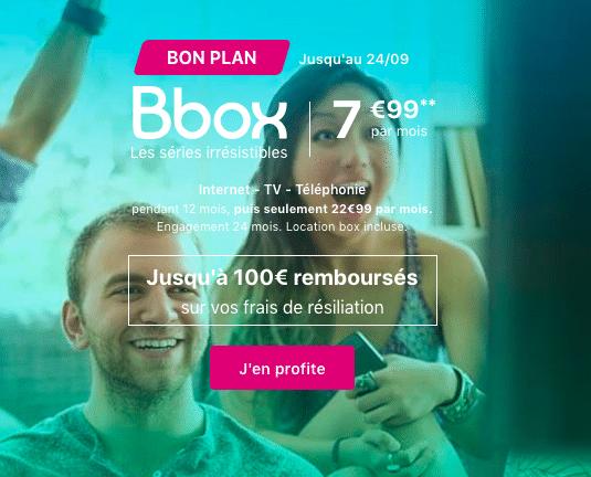 La promotion de Bouygues Télécom.
