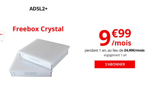 La box internet ADSL de Free