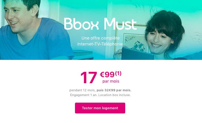 la box internet de Bouygues Télécom.
