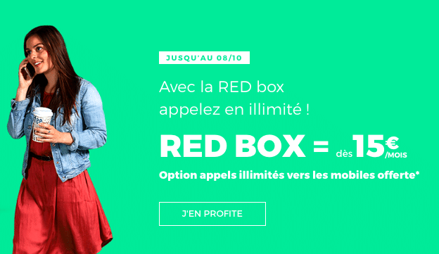 La box internet de RED by SFR.