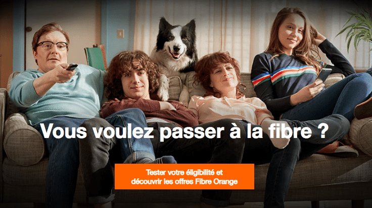 La Livebox d'Orange.