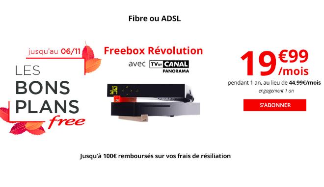 La box Révolution de Free.