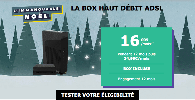 Promotion box internet ADSL La Poste Mobile.