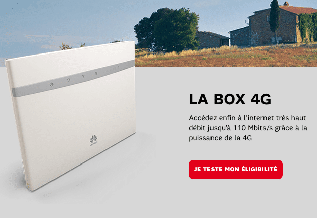 La 4G Box de SFR.