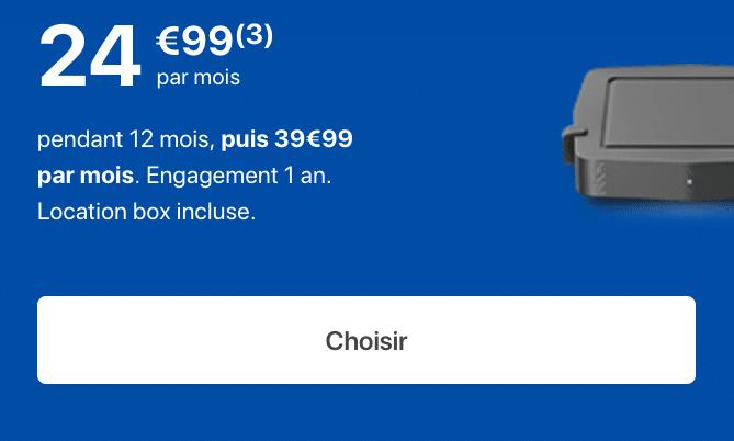 La Bbox Ultym de Bouygues Telecom.