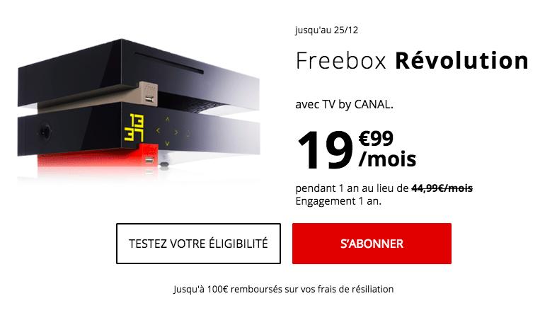La Freebox Révolution de Free.