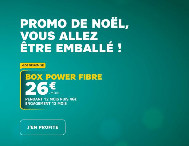 La box internet Power Fibre de SFR.