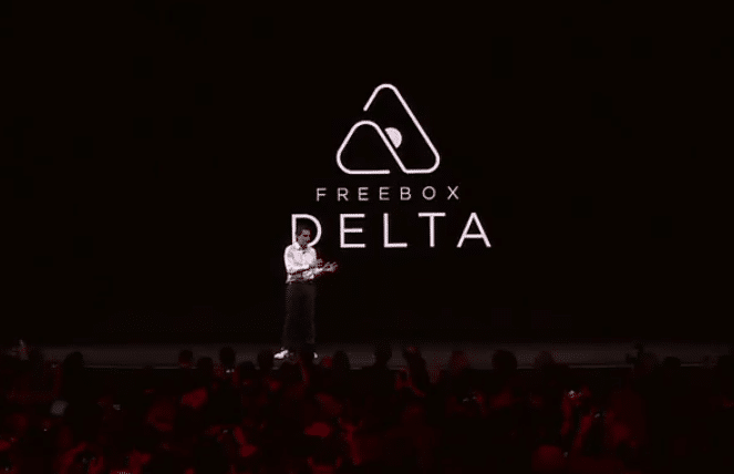 Delta, la nouvelle box internet Freebox de Free.