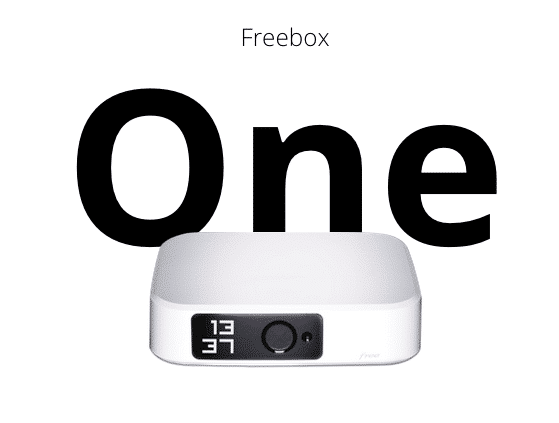 Nouvelle box internet de Free : Freebox One.