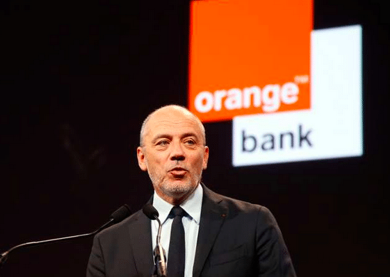 Orange Bank, avec Stéphane Richard.