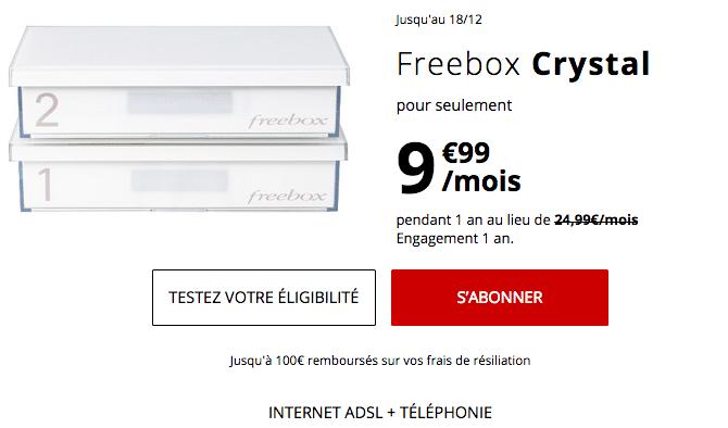 Box internet ADSL en promotion chez Free.