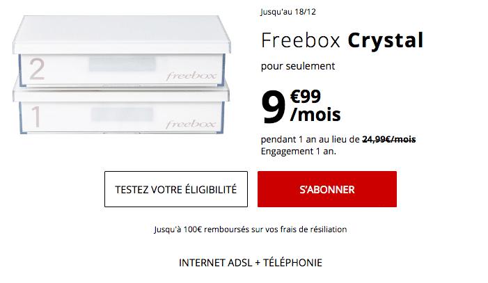 Box internet pas chère chez Free.