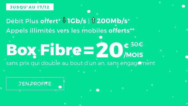 Box internet fibre optique en promotion.