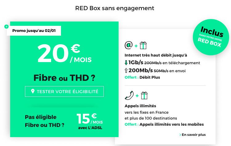 Promo RED Box SFR