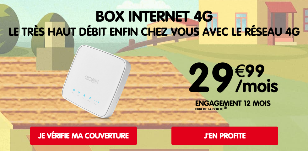 4G Box NRJ Mobile