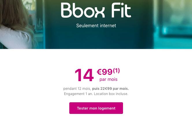 Box internet ADSL en promotion chez Bouygues Telecom.