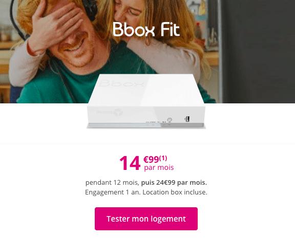 la Bbox Fit de Bouygues Telecom