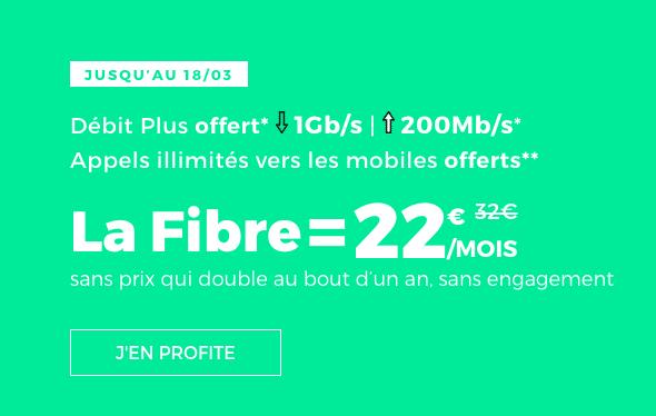 la box internet fibre de RED by SFR