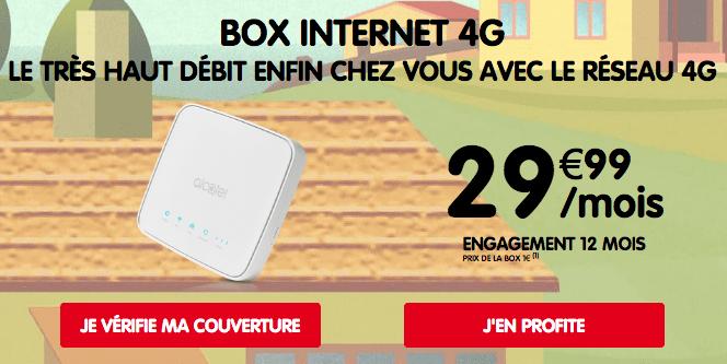 NRJ Mobile promotion box internet via la 4G.