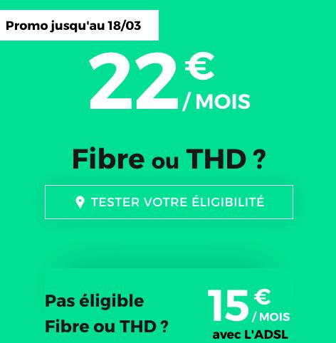 Fibre ou ADSL, la box internet promo de RED by SFR reste avantageuse