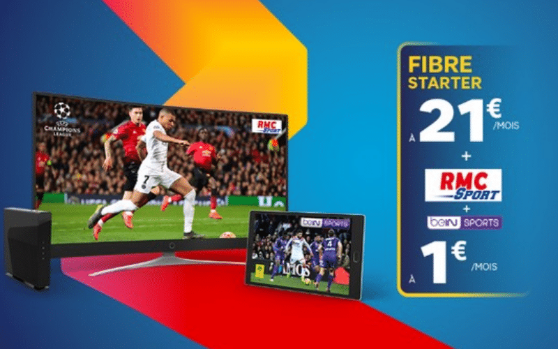 SFR Sport (devenu RMC Sport), beIN Sports, Eurosport ou encore le pack  sport Premium, SFR donne accès à différentes chaînes sport, permettant de regarder notamment des programmes de foot, tennis, rugby, basket, F1, ou golf. Elles sont soit incluses dans l'un des bouquets TV de base, soit...
