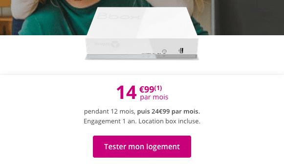 Bbox Fit Box internet ADSL pas chère de Bouygues Telecom.