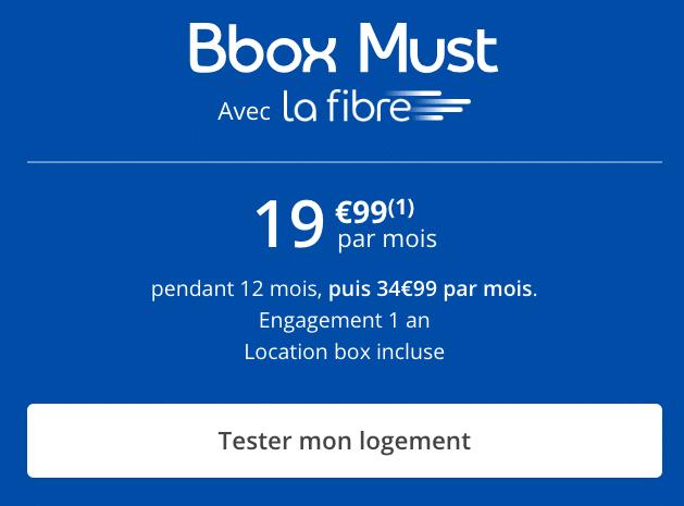 la box internet de Bouygues Telecom