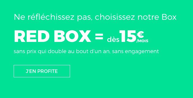 Box internet RED by SFR pas chère.