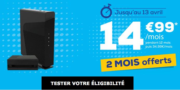 Box internet en promo La Poste Mobile.