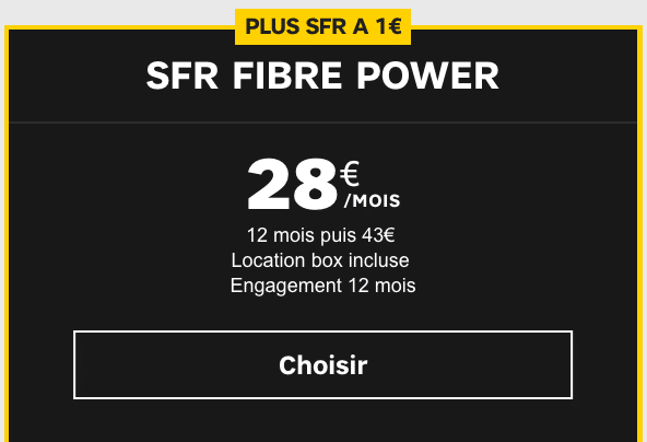 box Power de sfr