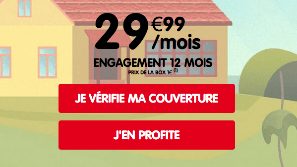 NRJ Mobile promo box 4G.