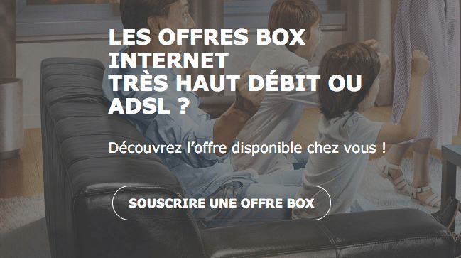 Box internet fibre ou ADSL promo La Poste Mobile.
