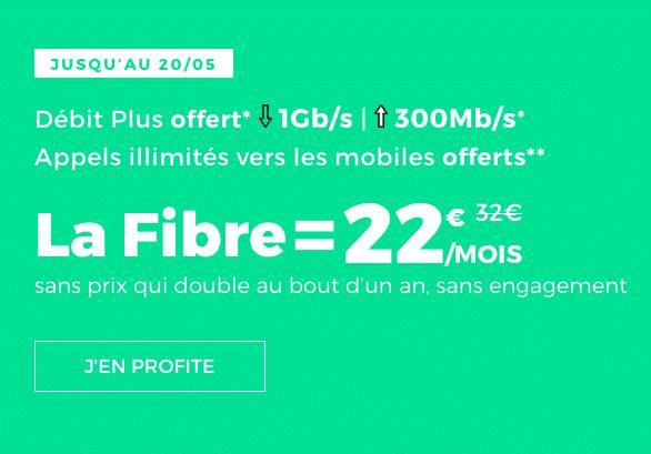 Box internet sans engagement disponible chez RED by SFR